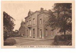INSTITUT CHIRURGICAL DE JUMET. LE PAVILLON DE 1ere CLASSE AVEC SOLARIUM. - Belgique