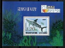 Korea 1993 Corea / Fish Shark MNH Fische Tiburón Peces Poissons / Cu12516  41-39 - Fishes