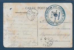 Cachet  - Infirmerie De Gare  DAX - Postmark Collection (Covers)