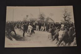Carte Postale 1910 Camp De Chambaran (38) Jeu Tir A  La Corde - Manoeuvres