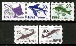 Korea 1990 Corea / Fish MNH Fische Peces Poissons / Cu12833  36 - Peces