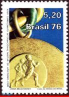 Ref. BR-1472 BRAZIL 1976 SPORTS, INTL MILITARY ATHLETIC, CHAMPIONSHIPS, MEDAL, MI# 1557, MNH 1V Sc# 1472 - Brésil