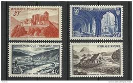 """FR YT 841A à 843 """" Monuments Et Sites """" 1949 Neuf** - France"""