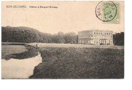 BONSECOURS. CHATEAU ET ETANG DE L' ERMITAGE. - Belgique