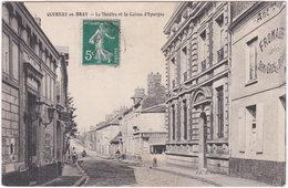 76. GOURNAY-EN-BRAY. Le Théâtre Et La Caisse D'Epargne - Gournay-en-Bray