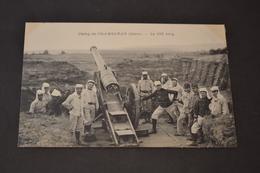 Carte Postale 1910 Camp De Chambaran (38) Le 155 Long - Manoeuvres