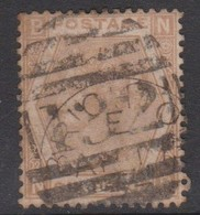 Great Britain SG 122b 1872 6d Pale Chestnut, Used - 1840-1901 (Victoria)