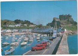 Gorey: HILLMAN IMP - Boats, Crane - Mont Orgueil Castle - (Jersey, C.I.) - Toerisme