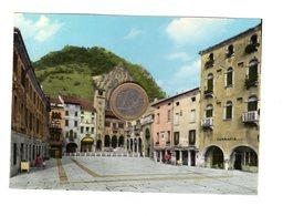 S6597 TREVISO VITTORIO VENETO PIAZZA FLAMINIO E MUSEO DEL CENEDESE - Treviso