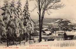 L'HIVER DANS LES VOSGES-  622  1/5 - Un Coin De Gerardmer Sous La Neige. 1915. - Gerardmer