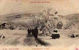 L'HIVER DANS LES VOSGES-  621(2)  1/5 - La Campagne Sous La Neige. 1915. - France