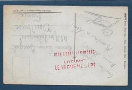 Cachet  GITE D'ETAPES FRANCAIS DE LIVOURNE - WW I