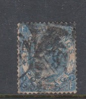 Great Britain SG 118 1867 Two Shillings Blue ,used, - 1840-1901 (Victoria)