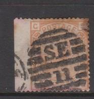 Great Britain SG 152 1876 4d Vermillion, Used - 1840-1901 (Victoria)