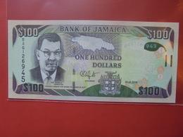 JAMAIQUE 100$ 2014 PEU CIRCULER/NEUF - Jamaica