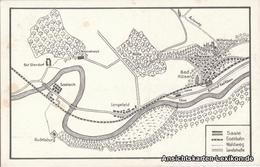 Ansichtskarte Bad Kösen Karte 1925 - Deutschland