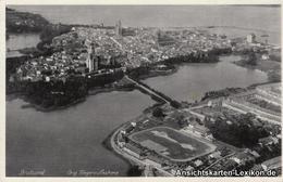 Ansichtskarte Stralsund Fliegeraufnahme 1938 - Stralsund
