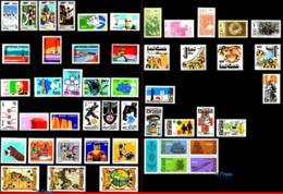 Ref. BR-Y1972-S BRAZIL 1972 ., ALL COMMEMORATIVE STAMPS, OF THE YEAR, ALL MNH 48V Sc# 1210~1275A - Brasilien