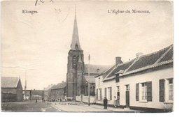 ELOUGES. L' EGLISE DU MONCEAU. - Belgique