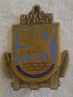 I111 - 21 - Insigne Indochine Navire Atelier Jules-Verne - Fabrication Courtois - Marine