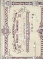 TRANSPORT En COMMUN De La RÉGION PARISIENNE Action De 500 Francs Doc.287 - Azioni & Titoli
