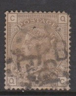 Great Britain SG 154 1880 4d Grey-brown, Used - 1840-1901 (Victoria)