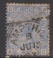 Great Britain SG 157 1881 2.d5 Blue, Used - 1840-1901 (Victoria)
