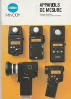 - Très Beau CATALOGUE PUBLICITAIRE 25 Pages, Appareils De Mesure MINOLTA, Très Bien Illustré - 001 - Matériel & Accessoires