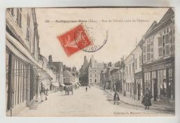 CPA AUBIGNY SUR NERE (Cher) - Rue Du Prieuré (côté Du Château) - Aubigny Sur Nere