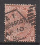Great Britain SG 163 1881 One Shilling Orange-brown, Used - 1840-1901 (Victoria)