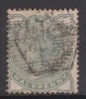 Great Britain SG 164 1880 Half Penny Green, Used - 1840-1901 (Victoria)