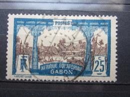 """VEND BEAU TIMBRE DU GABON N° 56 , OBLITERATION """" PORT-GENTIL """" !!! - Used Stamps"""