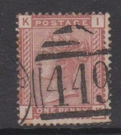 Great Britain SG 166 1880 1d Venetian Red, Used - 1840-1901 (Victoria)