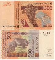 New  NIGER  500 Francs CFA    P619H  Dated  2019   UNC - Niger