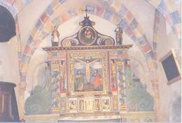 Curemonte   H173          ( Photo, Rétable, Intérieur De L'église 2002 ) - Other Municipalities