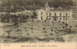 Italie, Sicile, Lipari, Municipio E Villa Mazzini       (bon Etat) - Italien