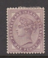 Great Britain SG 172 1881 1d Lilac, Mint Hinged - 1840-1901 (Victoria)
