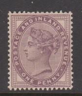 Great Britain SG 173 1881 1d Purple, Mint Hinged - 1840-1901 (Victoria)