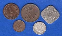Cent  1837  +  4  Pieces - 1815-1840 : Willem I
