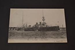 Carte Postale 1900/1910 Marine Militaire Française Le Condé Croiseur - Warships