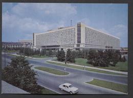 Hotel Rossija , Rode Plein Varvarkastraat 6 , Moskou 1967 - NOT Used.- See The 2 Scans For Condition.( Originalscan ) - World
