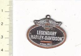 215 MEDAILLE - LEGENDARY HARLEY DAVIDSON - 50 GRAM - Firma's