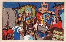 93Maj   Illustrateur Gitans Veillée De Pelerinage Annuel Aux Saintes Maries De La Mer - 1900-1949