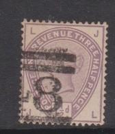 Great Britain SG 188 1883 Three Half Pence, Used - 1840-1901 (Victoria)
