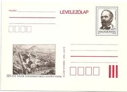 0553c Hungary Postcard Unused Building Science Water Mineral Leisure - Usines & Industries