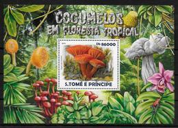 SAINT THOMAS ET PRINCE  BF 826 * *  ( Cote 13e ) Champignons De La Foret Tropical - Champignons