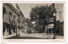 IGUALADA:  RAMBLA  DE  SAN  ISIDRO  -  PARA  ITALIA  -  FOTO  -  FP - Espagne