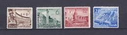 Deutsches Reich - 1940 - Michel Nr. 739/742 - Ungebr. - Allemagne