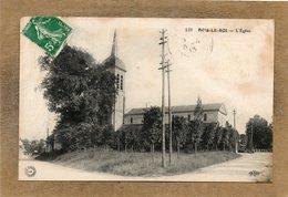 CPA - BOIS-le-ROI (78) - Aspect Du Quartier De L'Eglise En 1913 - France
