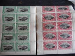 BOEKJE NRS 64 PLUS  65 TWEEMAL (4BOEKJES)  2DE OPLAGE - 1894-1923 Mols: Ungebraucht